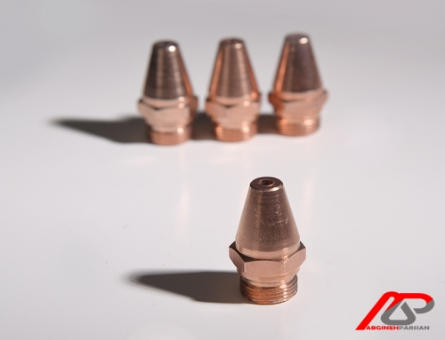 آبکاری مس قطعات فلزی